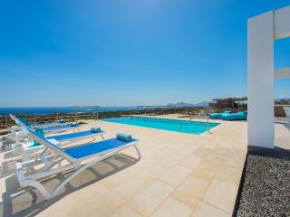 Aphrodite of Rhodes with infinity pool and ocean view - Kalithies vacation rentals