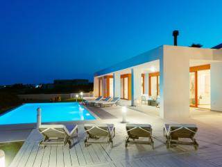 Villa 7-spacious beach front private pool villa - perfect for friends & family - Lachania vacation rentals