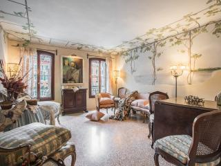 Petit Ca' Garçon - Luxury and wonderful apartment on the Canal Grande, winter garden, a double bedroom, a single bedroom, 2 bathrooms, air conditioning, internet Wi.Fi - Venice vacation rentals