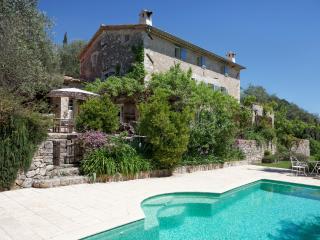 PROVENCAL FARMHOUSE: LARGE GARDEN, INFINITY POOL - Le Rouret vacation rentals