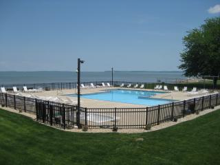 Stunning 1st Fl Lakefront Condo-Walk to town, restaurants, Jet and bars.Nice! - Port Clinton vacation rentals