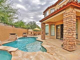 New Listing! Extraordinary 3BR Mesa House w/Wifi, Outdoor Fireplace & Private Pool - Near Upscale Golf Courses & Within 2 Hours of Tonto National Forest! - Mesa vacation rentals