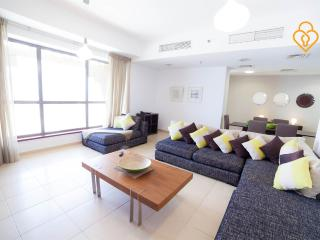 Two bed Sea view apartment at Shams Jumeirah beach - Dubai vacation rentals