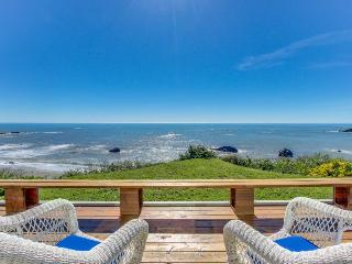 Family-friendly oceanfront home, w/sweeping views & privacy - Brookings vacation rentals