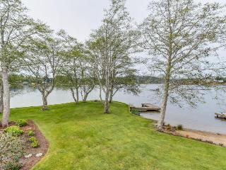 Modern lakefront home w/private dock, firepit, amazing views - Otis vacation rentals