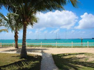 BEACHSIDE CONDO... you can't get much closer to the beach than this!! - Simpson Bay vacation rentals