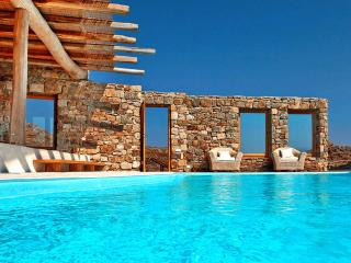 Mykonos -  Gv - The Sunkissed Villa with infinity pool and 5 bedrooms - Mykonos vacation rentals
