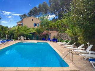 Provence cote azur sea private villa & pool 18p - Carqueiranne vacation rentals