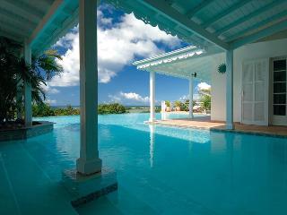 5+2 bedroom villa overlooking the caribean sea and sunset - Plum Bay vacation rentals