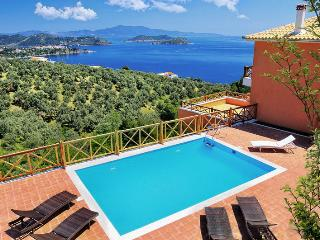Amazing villa, private pool stunning sea view. - Katsarou vacation rentals