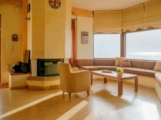 Panoramic view cosy apt. for 6 people - Kounoupidiana vacation rentals