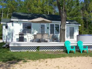 Mullett Lakeshore Cottage W/OUTDOOR HOT TUB!RELAX! - Topinabee vacation rentals