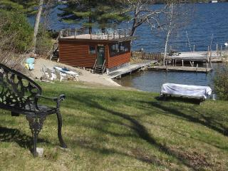 Classic Adirondack Log Home, Waterfront - Lake George vacation rentals