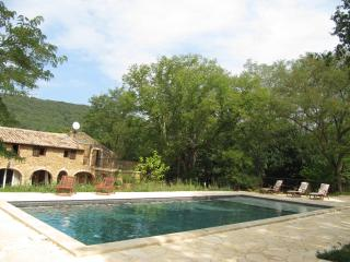 Mas à la compagne, vallée de la Céze,9 personnes - Saint-Andre-d'Olerargues vacation rentals