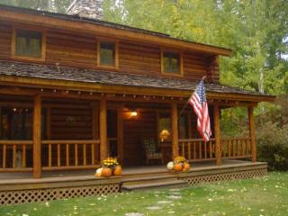 Beautiful Log House by Draper Preserve And Big Wood River ~ RA72028 - Hailey vacation rentals
