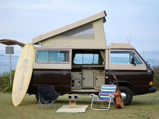 Vintage camper Surf Bus - Live your adventure - Haleiwa vacation rentals