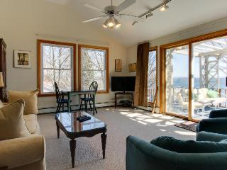 End-of-road lakefront home w/ dock, kayaks & two kitchens - South Hero vacation rentals