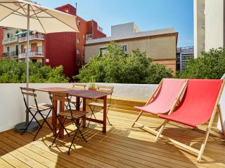 Glorias Penthouse with Terrace (1BR) - 20% SPECIAL PROMO DISCOUNT - Barcelona vacation rentals