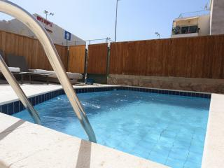 3-room apartment with a private pool - Eilat vacation rentals