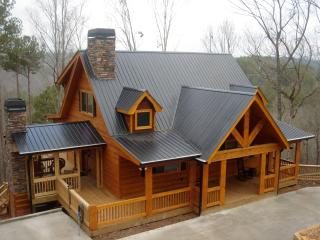 Peaceful & Rustic Log Cabin with the BEST MOUNTAIN - Ellijay vacation rentals