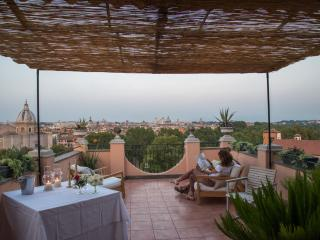 Santonofrio Sky Penthouse Terrace The Best Views of Rome!!! - Roma vacation rentals