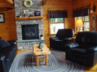 Beautiful Vermont Log Cabin on Neal Pond - Lunenburg vacation rentals