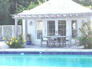Pool House in a garden setting - Smith's vacation rentals
