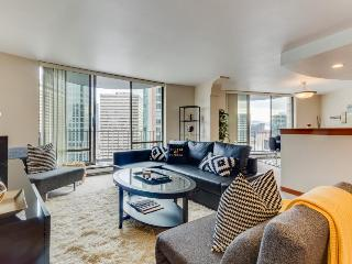 Junior penthouse, steps to Convention Center, and Pike Place. Shared pool access - Seattle vacation rentals