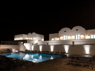 PRIVATE -SEA FRONT VILLA  WITH POOL  by Santorini Fira beach! - Karterados vacation rentals