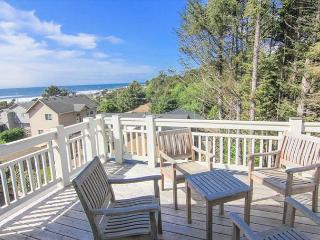 Brand new custom beach home with great ocean views and easy beach access - Lincoln City vacation rentals