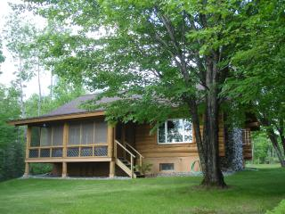 White Cedar Log Home on Scenic Balsam Lake - Grand Rapids vacation rentals