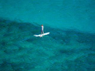 2 Beaches only footsteps away!  Sea Song Villa - Nail Bay vacation rentals