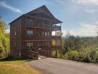 Close to Pigeon Forge, Family Luxury Cabin w/ View - Sevierville vacation rentals