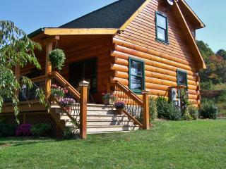 New Listing! 'Lakewood Lodge' Luxurious 2BR Claytor Lake Log Home w/Wifi, Outdoor Fire Pit, Handcrafted Gazebo & Private Dock - Excellent Location - Just Minutes to Claytor Lake, Recreation, Wineries & More! - Hiwassee vacation rentals