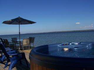 Sunrise Sunsation Lakeshore Cottage wirh HOT TUB! - Mullett Lake vacation rentals