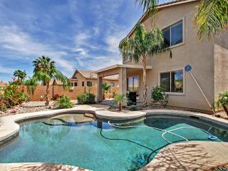 New Listing! Luscious 4BR Queen Creek House w/Wifi, Heated Outdoor Pool, Very Private Yard & Amazing Mountain Views - Minutes to Mesa Nat'l Park, Tons of Golf, Shopping & Restaurants! - Queen Creek vacation rentals