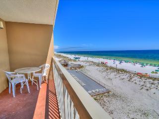 Pelican Beach Resort 410-AVAIL8/7-8/11-RealJOY FunPass*FREETripIns4NEWFallBkgs*4th Fl-GulfFRONT-1BR - Destin vacation rentals