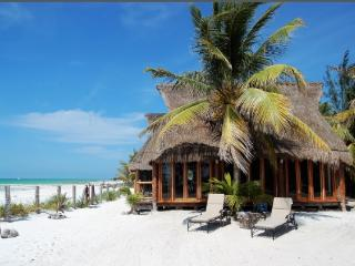 Breath-taking beach front cabin - Holbox Island vacation rentals