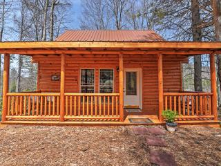 Secluded 2BR Roan Mountain Cabin w/Charcoal Grill & Large Deck - Great Location Near Skiing, Hiking & Race Tracks - Less Than 1 Mile to Town! - Roan Mountain vacation rentals