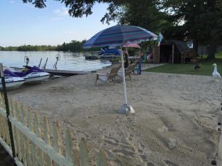 Lakefront 3BR West Branch Getaway- Sandy Beach - West Branch vacation rentals