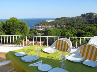Stunning penthouse viewing over Aigua Blava Bay - Begur vacation rentals