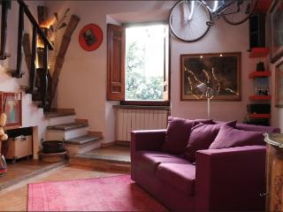 Magical Top-Floor Overlooking Piazza Santa Maria - Rome vacation rentals