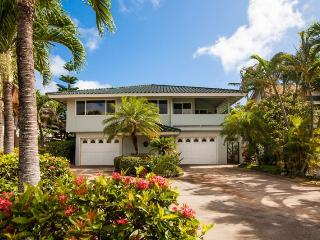 Daydream Believer, Sleeps 15, Spacious 4-bedroom home in Poipu, lovely yard, lanai with BBQ, short walk to beaches. Sleeps 15 - Koloa vacation rentals