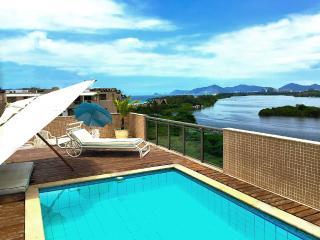 Double Level Penthouse, Amazing View in Rio. Barra - Rio de Janeiro vacation rentals