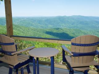 Ridge Top Cottage, Long Views, Covered Deck - Meadows of Dan vacation rentals