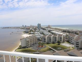 Look at these views of the Gulf, Bay and Island - Gulf Breeze vacation rentals