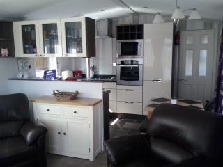 Luxury Chalet with Patio Garden & Private Parking - Forfar vacation rentals
