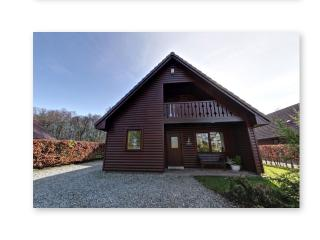Ptarmigan Luxury Lodge with huge PRIVATE hot tub - Drymen vacation rentals