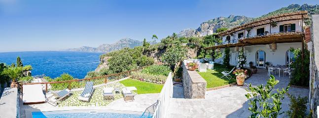 Villa Indigo holiday vacation villa rental italy, amalfi coast, praiano, beach - Image 1 - Praiano - rentals