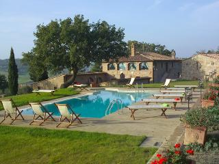 Villa Pamina holiday vacation large villa rental italy, tuscany, near siena - Monticchiello vacation rentals